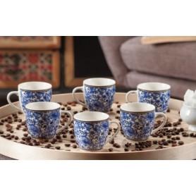 SERVIZIO CAFFE NEW BONE CHINE PER 6