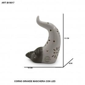 CORNO GRANDE MASCHERA CON LED