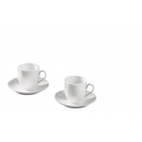 SERVIZIO CAFFE PORCELLANA X 6 PERSO