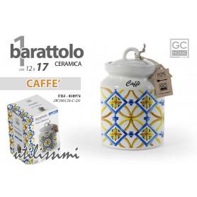 BARATTOLO CAFFE 17CM TERRA D'AMURI