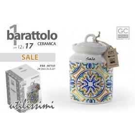 BARATTOLO SALE 17CM  VIETRI