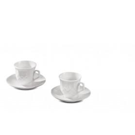 SERVIZIO CAFFE PORCEL X 6 PERSONE