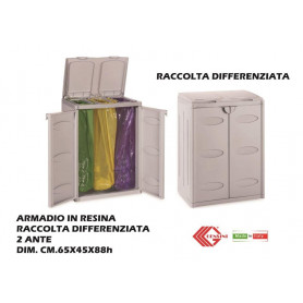 ARMADIO RACCOLTA DIFFERENZ.3 SACCHI