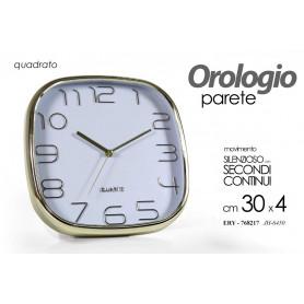 OROLOGIO QUADRO 30*4CM