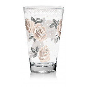 BICCHIERI BIBITA DARLING ROSE 3PZ