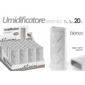 UMIDIFICATORE H.20 3 CUORI BIANCO