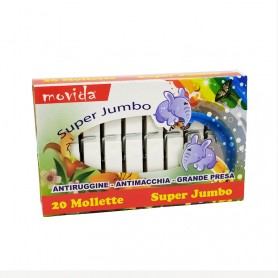 MOVIDA 20 MOLLETTE SUPER JUMBO SCAT