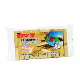 MOVIDA 12 MOLLETTE LEGNO SUPER ELEF