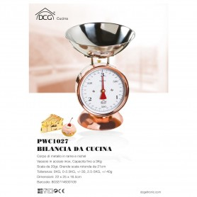 BILANCIA CUCINA 3KG DCG