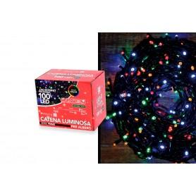 LED 100 MULTICOLORE  8 GIOCHI