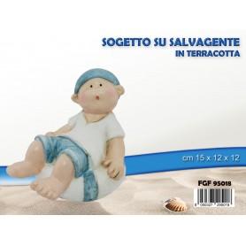 SOGGETTO TERRACOTTA 15X12X12